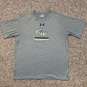 George Washington Colonials t-shirt L Under Armour